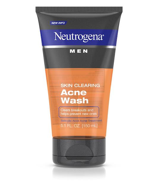 7. Sữa rửa mặt Neutrogena Men Skin Clearing Acne Wash