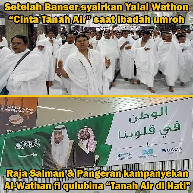 Gara-gara Banser Syairkan Yalal Wathan, Arab Saudi Ketularan Cinta Tanah Air