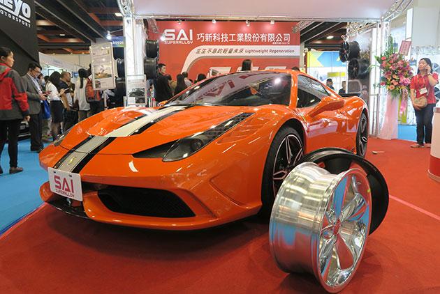 巧新科技 位於雲林工業區擠身世界鋁合金輪圈三大製造商 供貨全球頂級超跑、房車