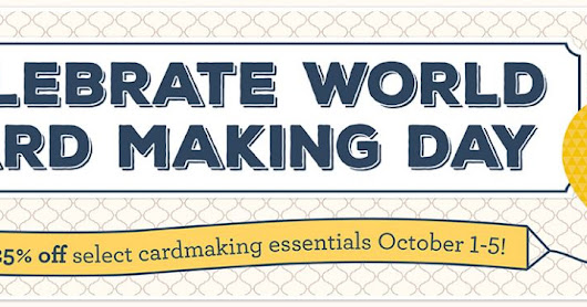 It's World Cardmaking Day!