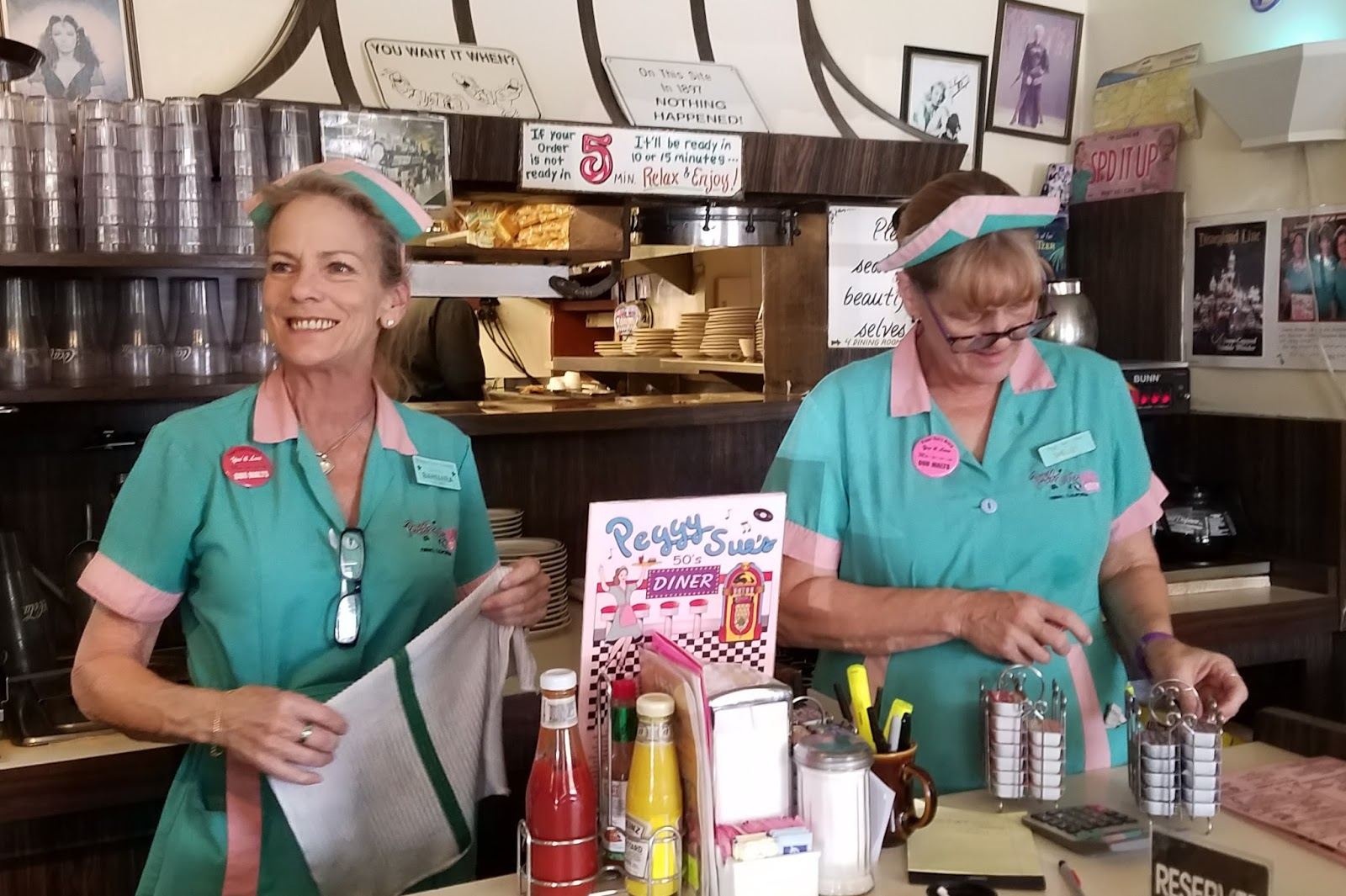Where is Cookie?: Pop in to Peggy Sue's, for fun film decor