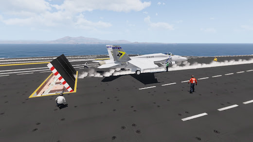 Arma3用空母USS Nimitz MOD