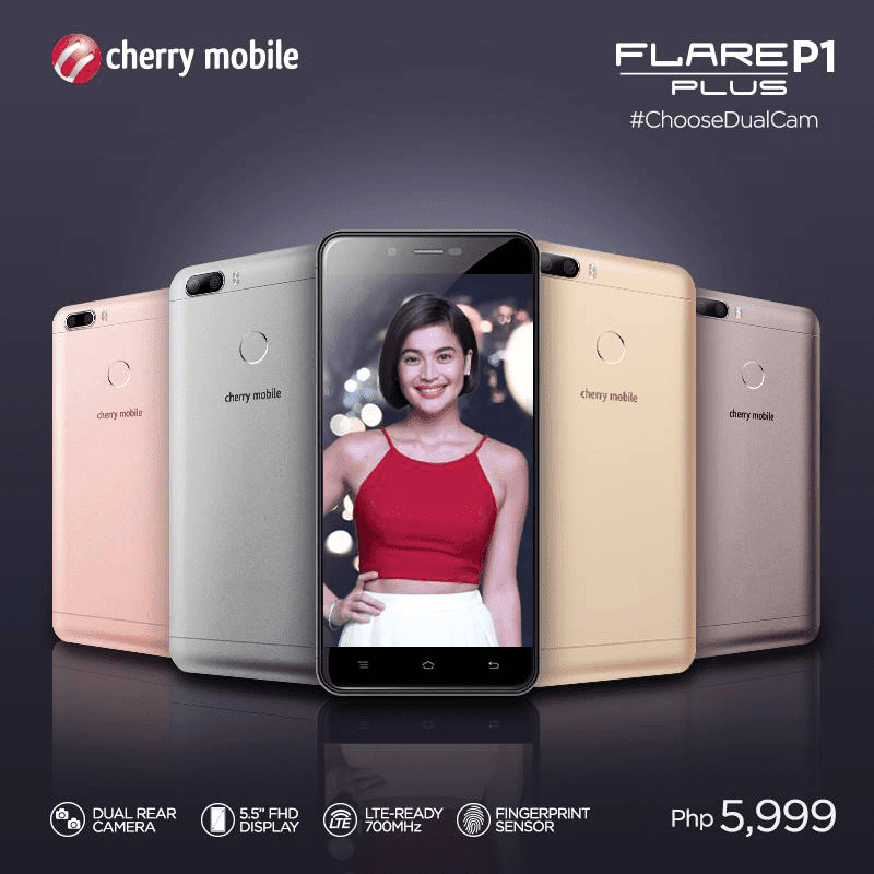 Cherry Mobile Flare P1 Plus Now In Stores!