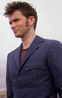 10th Doctor blue suit + layers