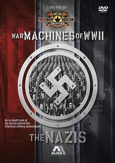 capa - As Máquinas da Segunda Guerra Mundial: Os Nazistas – Soldados do Reich
