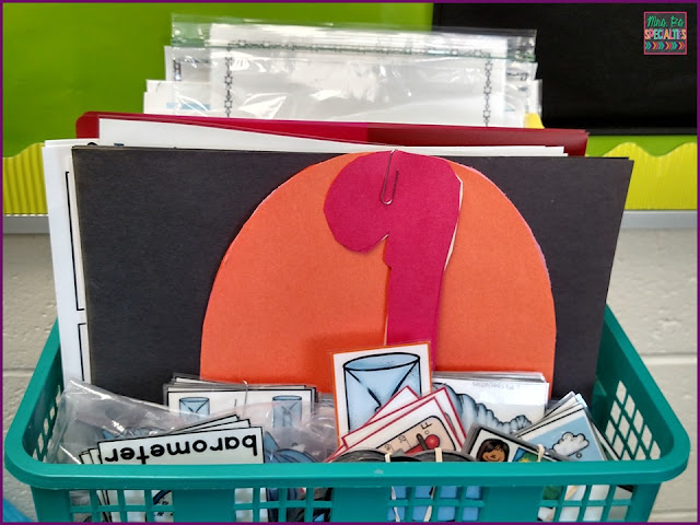 The easiest system for organizing materials for lesson planning in special education.