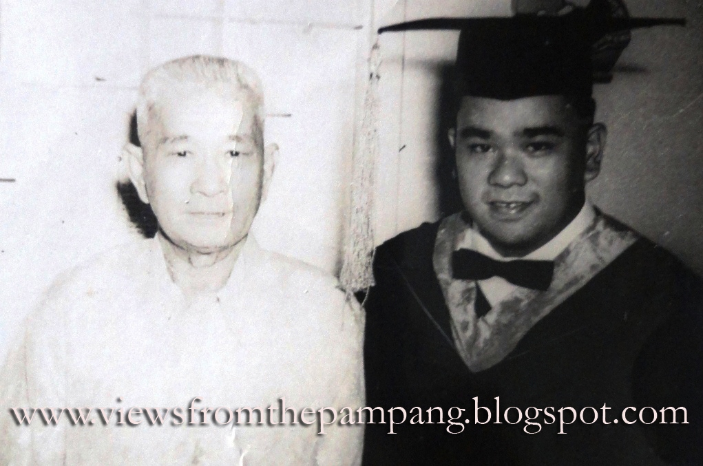 VIEWS FROM THE PAMPANG: *396  A SON'S LETTER TO A DYING FATHER