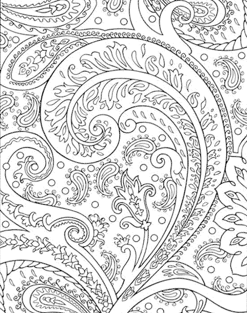 Detailed Coloring Pages For Adults Free Image