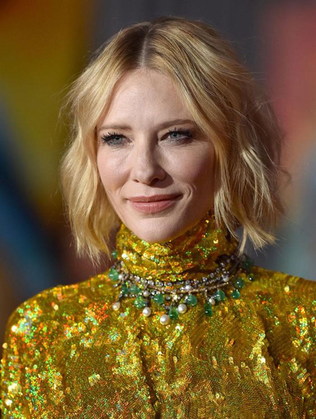 Cate Blanchett, analiza kolorystyczna, Jasne Lato, niepasujące kolory