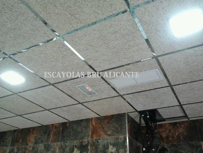 Escayolas bru alicante techos desmontables - Tipos de falsos techos ...