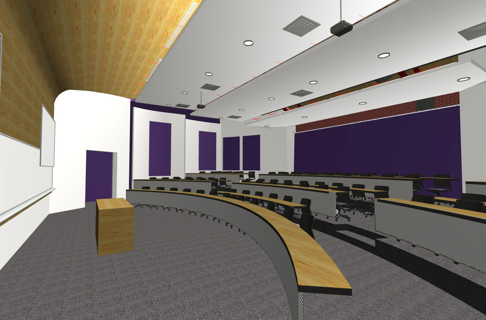 Ueb Builders Ueb Builders Converts Grand Canyon University Gymnasium Into Four Lecture Halls