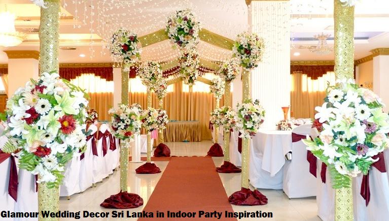 Glamour Wedding Decor Sri Lanka In Indoor Party Inspiration