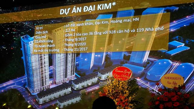 Phối cảnh dự án Athena Fulland khu đô thị Đại Kim