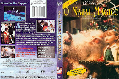 Filme O Natal Mágico (1985) (One Magic Christmas) DVD Capa