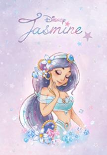 Line 迪士尼茉莉公主 免費主題