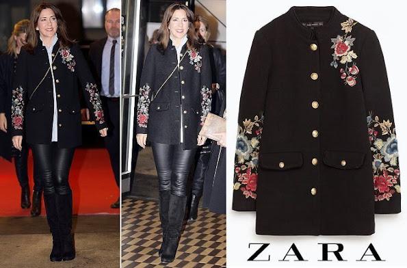 Princess Mary outfits, Cecilie Bahnsen, Prada, Massimo Dutti blazer