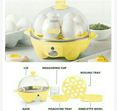 120V Dash Egg Cooker with Auto Power-Off Function
