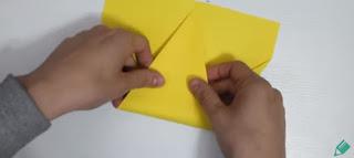 Avion En Papier Origami Facile Panda