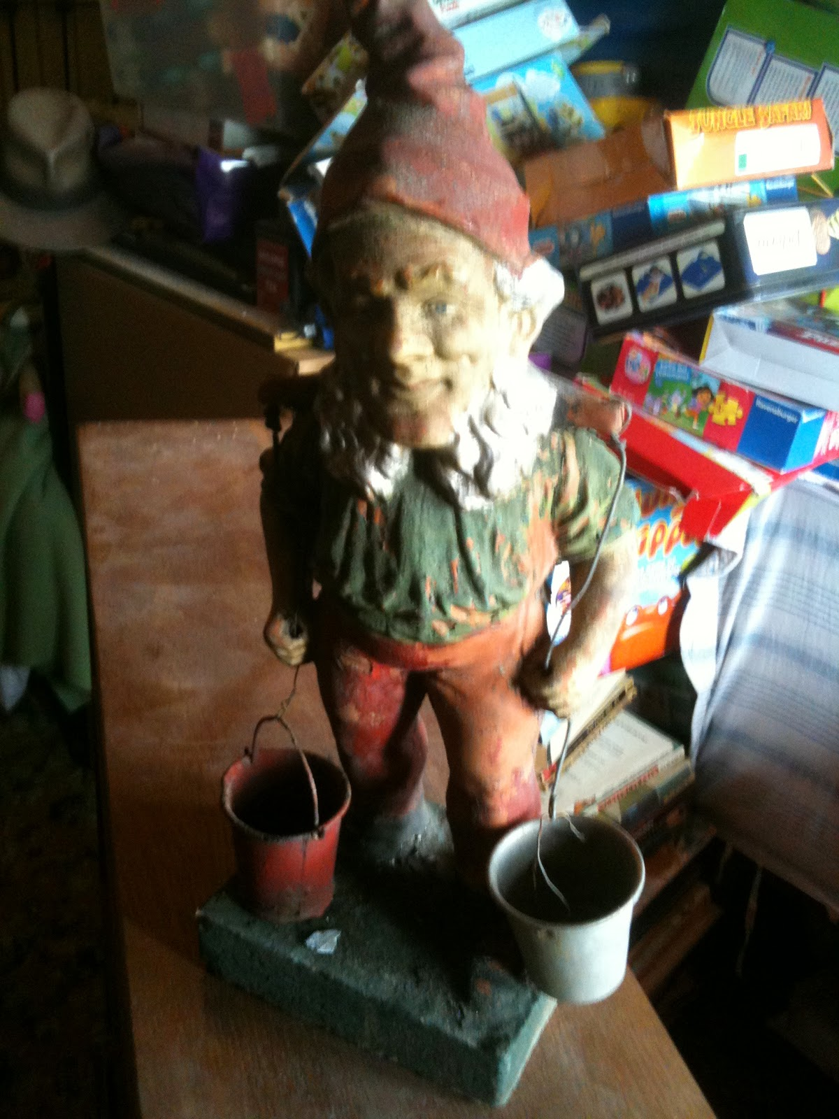 Norman the gnome is pre-war