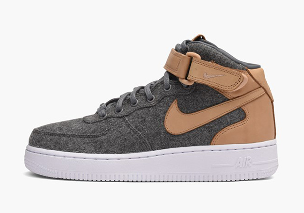 The Nike Air Force 1 Mid Wool and Leather Collection manages to keep things  as interesting as ever, as these women's exclusive colorways feature plenty  of ...