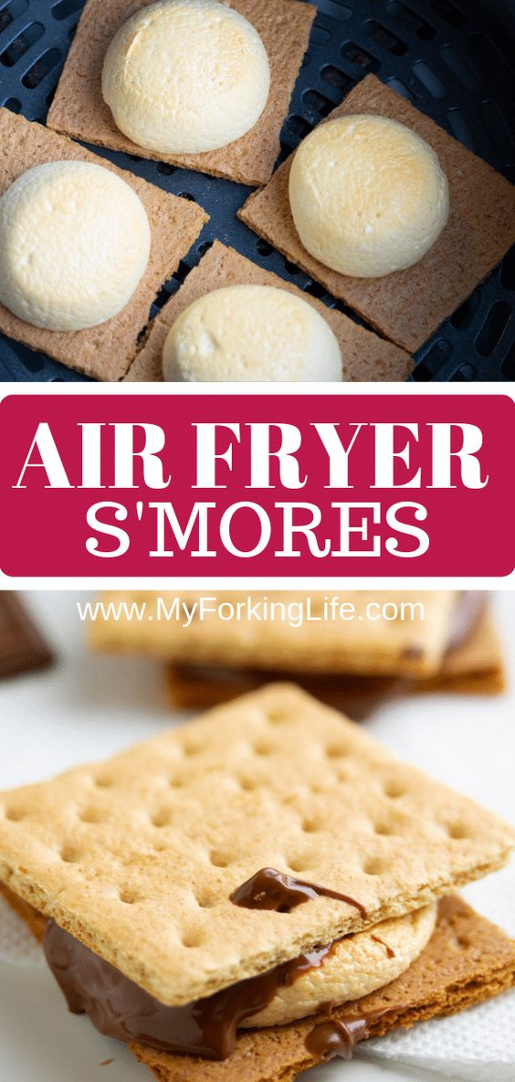 AIR FRYER S'MORES
