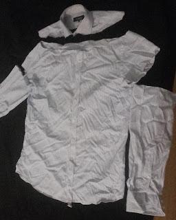 sukienka na lato z męskiej koszuli