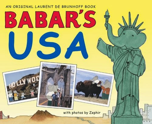 Babar's USA, part of book review list about the United States