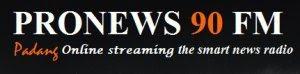 Streaming Radio Pro News 90 FM Padang Sumatera Barat