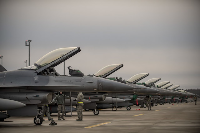 USAF ANG F-16 deployment Estonia