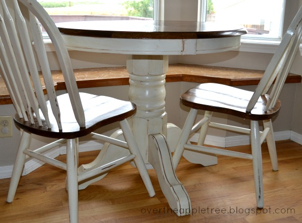 Over The Apple Tree: Kitchen Table Makeover