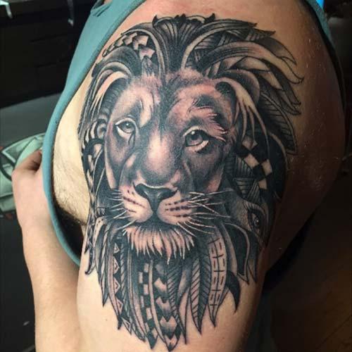 erkek omuz dövmeleri man shoulder tattoos 7