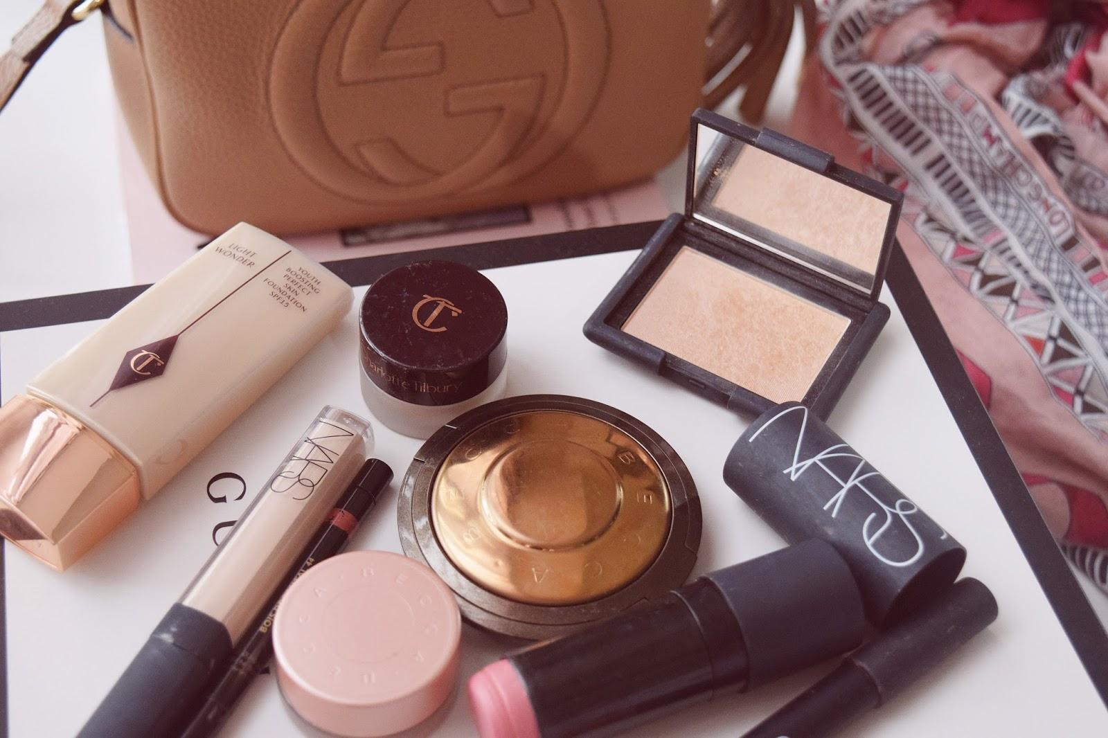 makeup favorites 2017, nars favorites, becca favorites