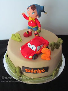 noddy cake sugar paste