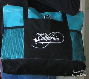 Road to California tote bag