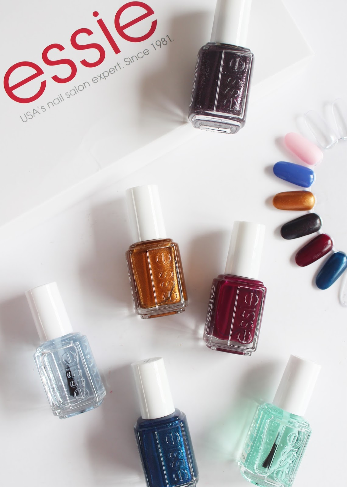 Essie Nail Polish Fall 2016 Swatches - Creative Touch