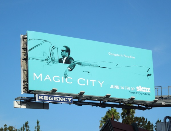 Magic City season 2 billboard