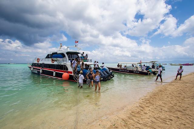 Imbarco per Nusa Lembongan a Sanur-Bali