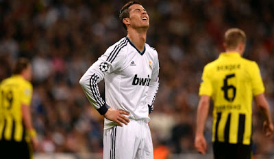 Cristiano Ronaldo defeated by Borussia Dortmund