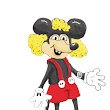 Jane Taheri: Me as Mickey Mouse.