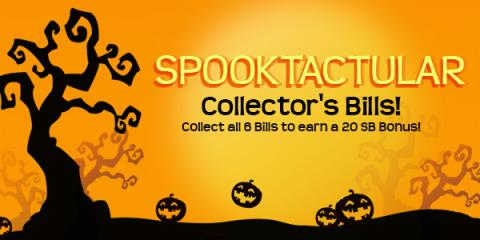 Image: Swagbucks is celebrating Halloween with a special set of Spooktacular