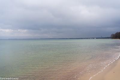 Kolory zimy nad morzem