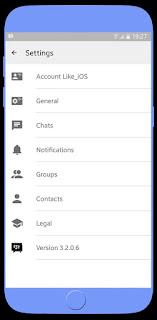BBM MOD Like iOS Base v3.2.0.6 Apk Avalaible Terbaru 2016 2