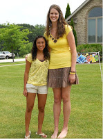 Tall girls They without the heels