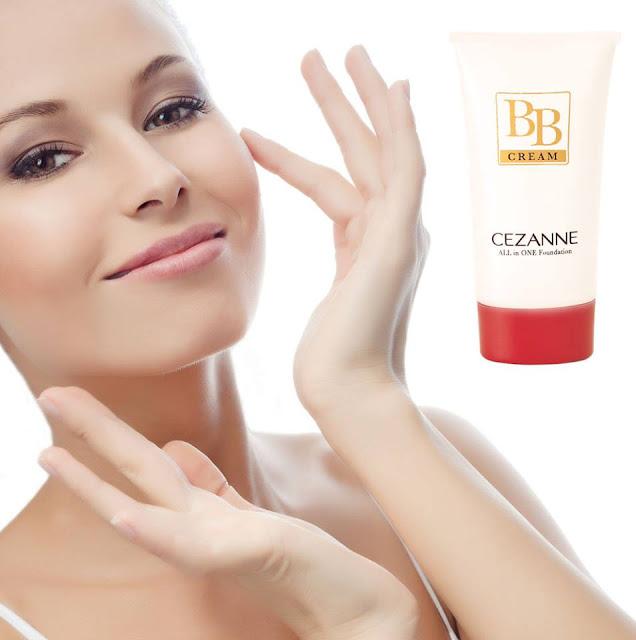 Da trắng hồng mịn màng với BB cream Cezanne