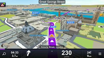 aplikasi GPS Offline Sygic v15.4.10 + HUD Terbaru Android