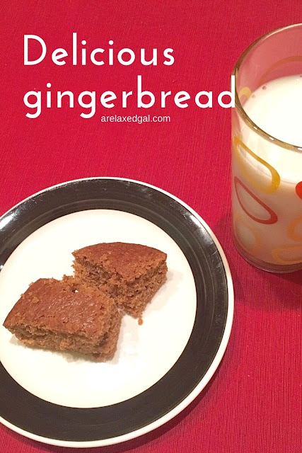 Try out this Better Homes and Gardens recipe for gingerbread that is great for a holiday party. | arelaxedgal.com