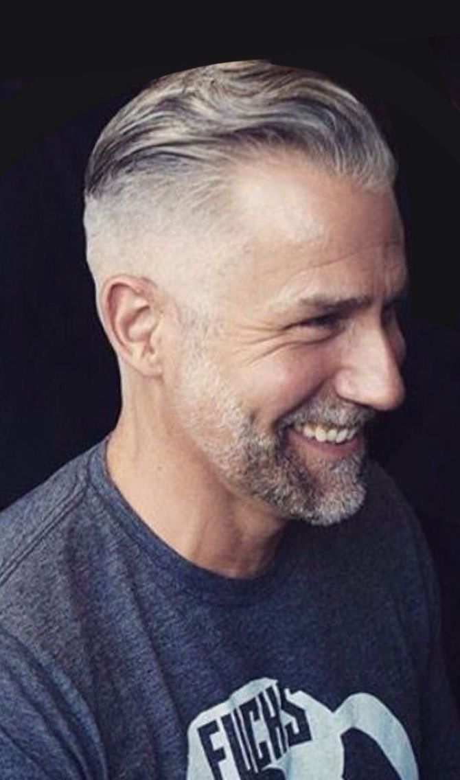 Gray haired men! - The HairCut Web
