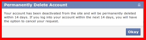 how to delete your facebook account not just deactivate