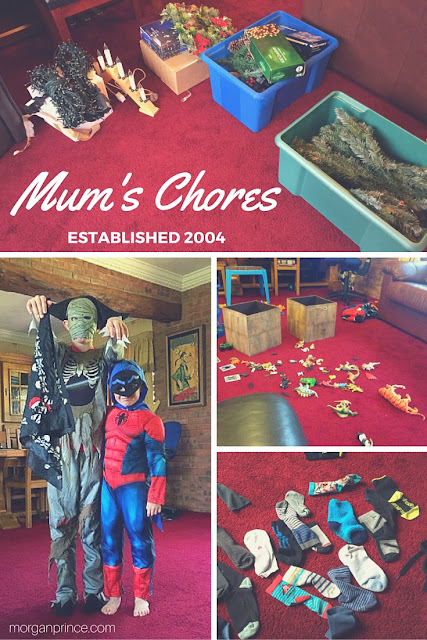 My Morning | Morgan's MIlieu: A mum's chores are never done.