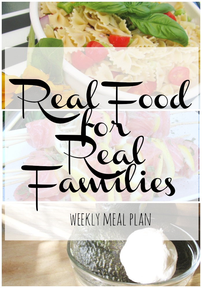Weekly Meal Plan - Ideas and Inspiration
